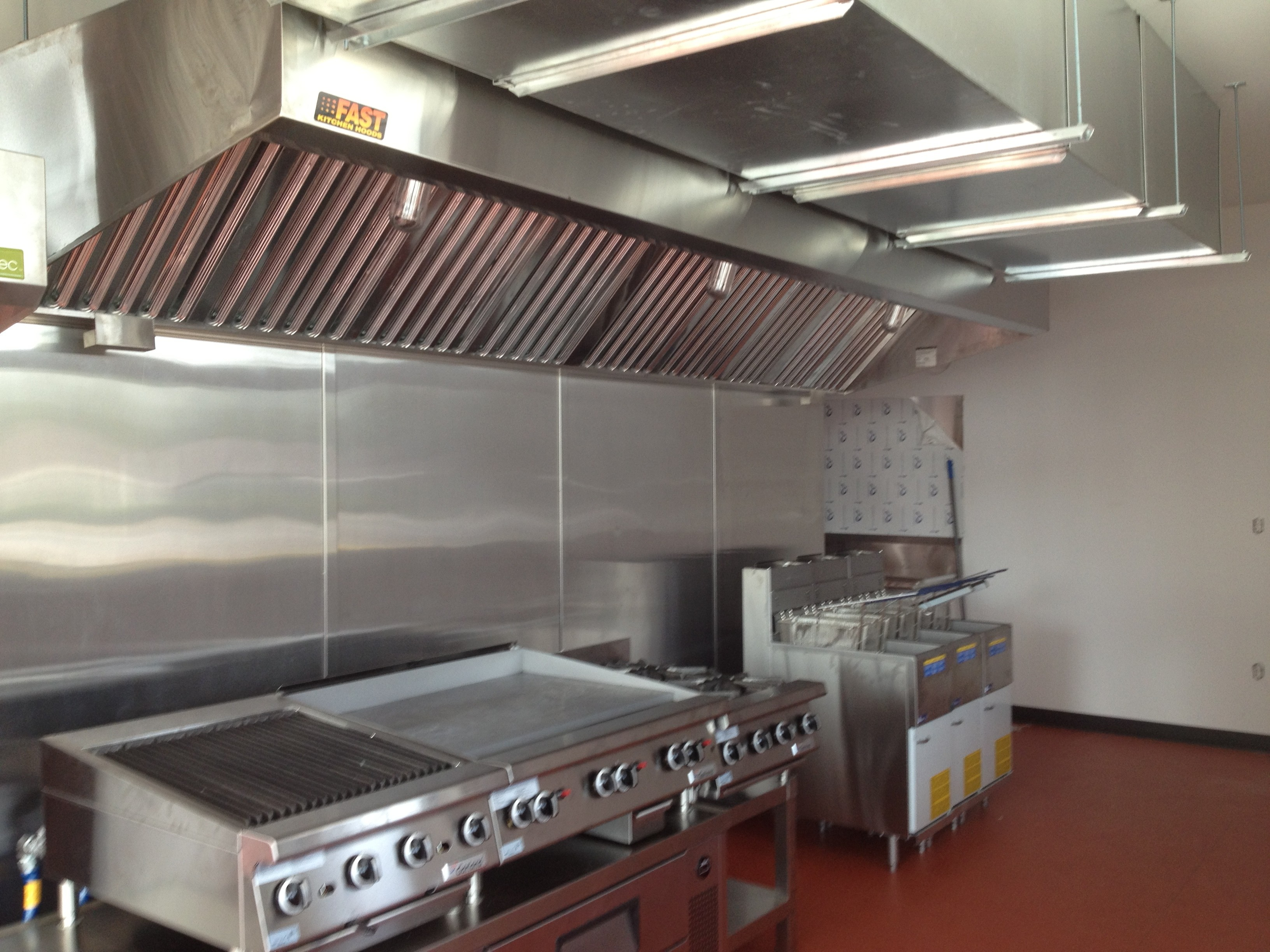 Noddle sheet metal mechanical for Best kitchen exhaust system